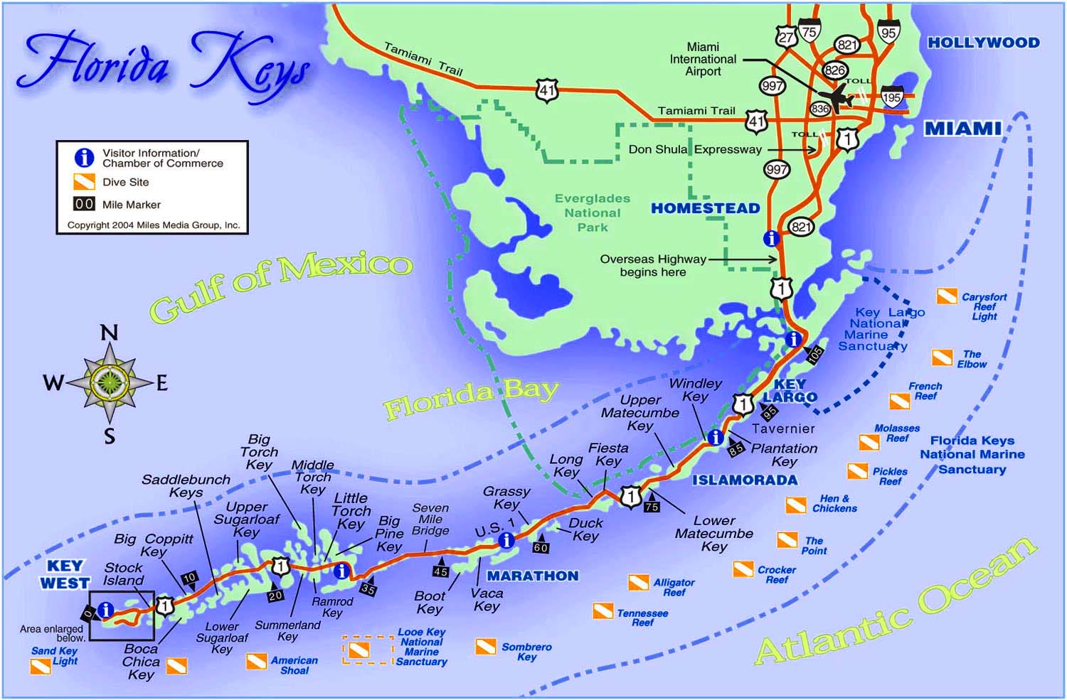 Photo Home Site Florida Keys Map