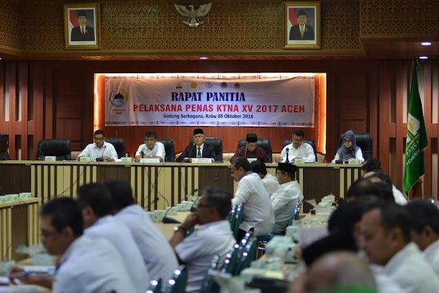 Pemerintah Aceh Gelar Persiapan Penas KTNA XV