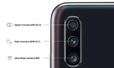Spesifikasi Kamera Samsung Galaxy A70