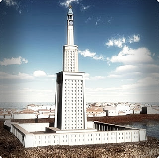 Lighthouse of Alexandria 7 wonders the world