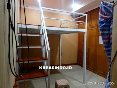 Mezzanine Besi pesanan Bpk Hendy di Cipondoh Tangerang