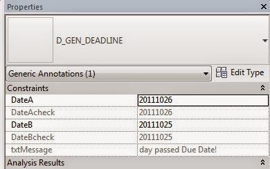 Red Hot BIM: Revit Deadline! Calculate Days Between Dates