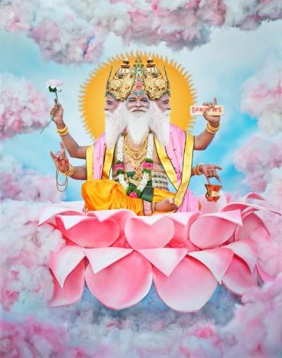 Hindu God Brahma ji picture