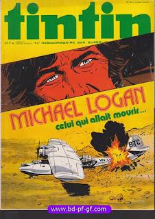 Tintin numéro 42, 1976, Michael Logan