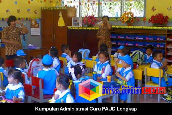 Download Kumpulan Administrasi Guru PAUD Lengkap di Berkas Sekolah