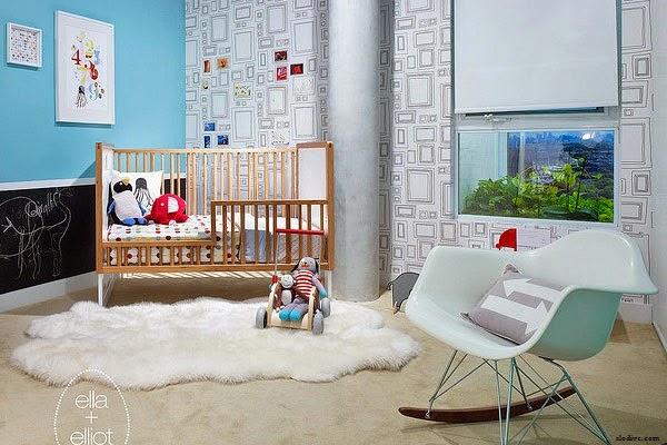 Une Chambre bébé garçon moderne