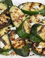GRILLED ZUCCHINI WITH CHEESE