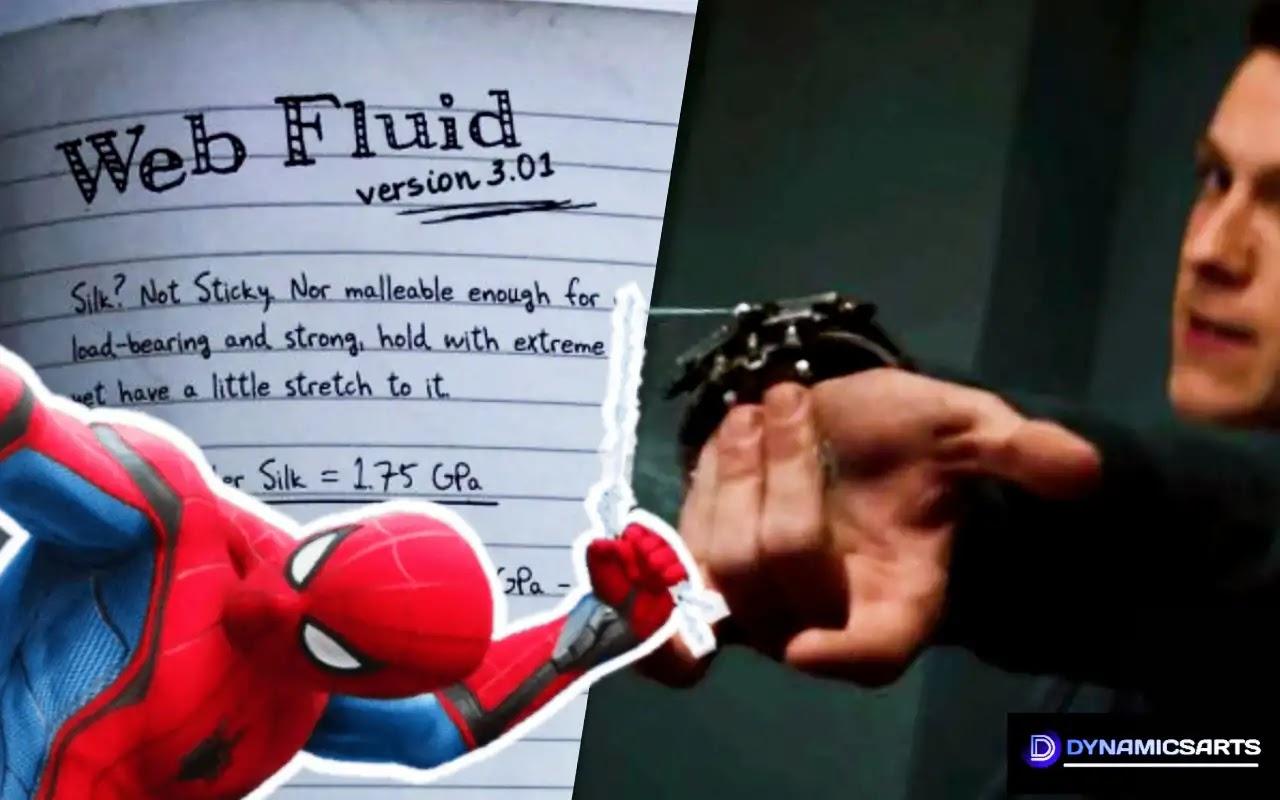 Marvel's Reveals About Peter Parker's Web Fluid Formula