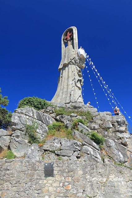 Virgen de la Roca, Bayona