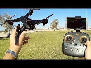Spesifikasi Drone VISUO XS812 GPS - OmahDrones