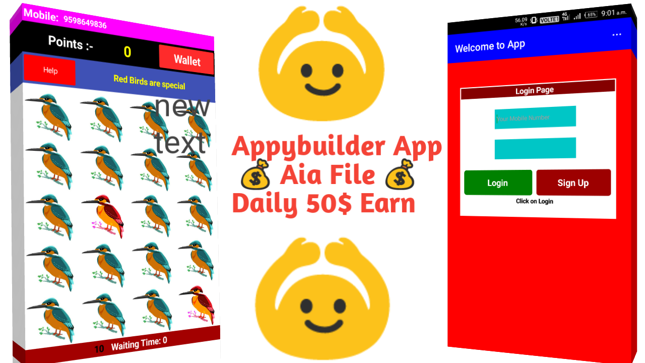 Tecknical Shiv: Appybuilder Earning App Aia File 2018
