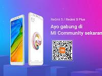 Harga Resmi Xiaomi Redmi 5 & 5 Plus Garansi TAM Indonesia