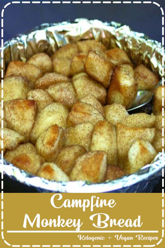 Easy and Delicious camp fire monkey bread  Campfire Monkey Bread
