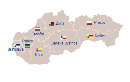 Pembagian wilayah administratif Slowakia