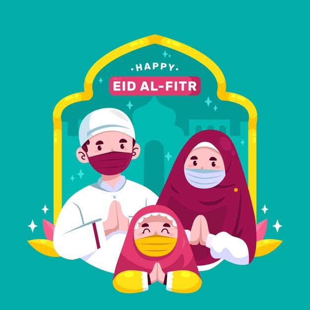 Eid Mubarak Image Lockdown