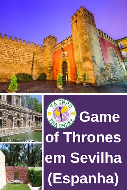 Visitando cenários de Game of Thrones - Sevilha, Espanha