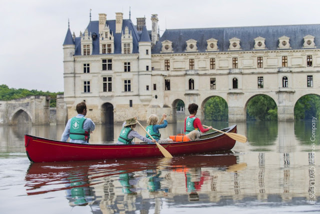 Chenonceau castle Loire Valley children kids