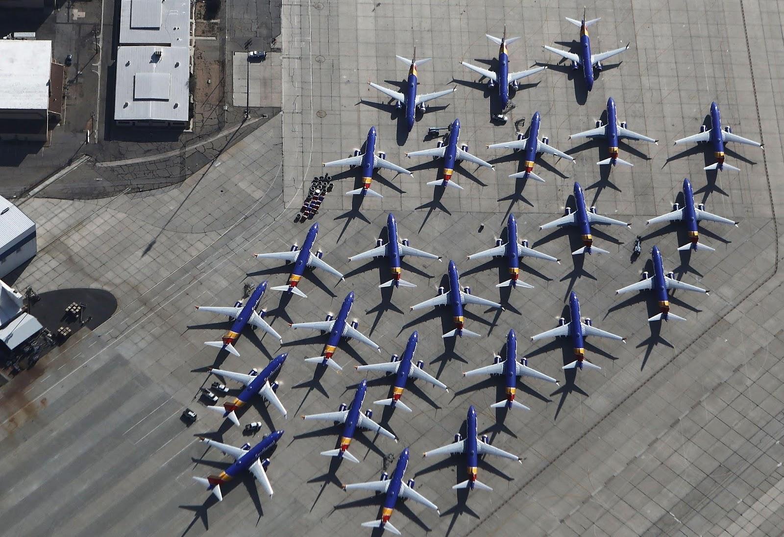 B737 MAX 주기 사우스웨스트항공