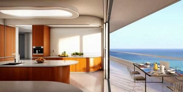 Modern Miami beachside penthouse