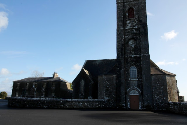 Front View of Ardcarne Church in Roscommon