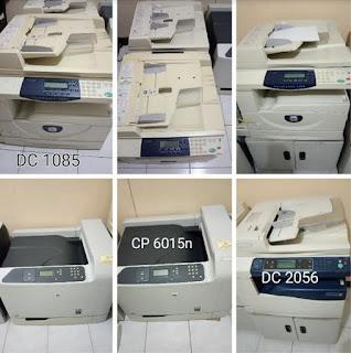 Jual mesin fotocopy dan printer laserjet ex kantor