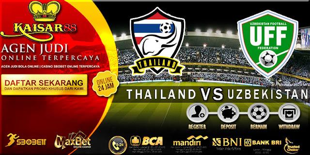 PREDIKSI TEBAK SKOR JITU THAILAND U23 VS UZBEKISTAN U23 19 AGUSTUS 2018