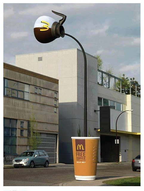 Good ideas to to advertise , Creative ads