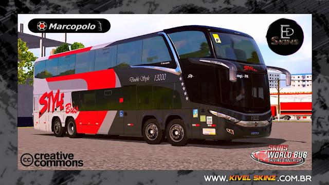 PARADISO G7 1800 DD 8X2 - VIAÇÃO STYLE BUS