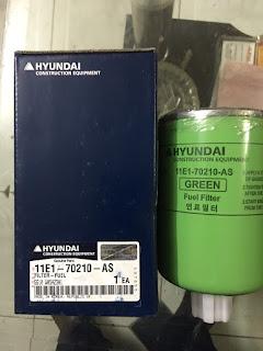 Lọc máy xúc Hyundai nhập khẩu