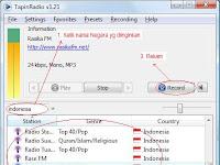 Cara Merekam Streaming Radio Secara Online dalam Format MP3