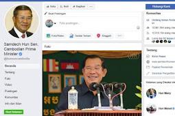Rahasia Pengelolaan Facebook PM Kamboja, Samdech Hun Sen