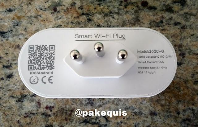 Smart Wi-Fi Plug - Tomada inteligente