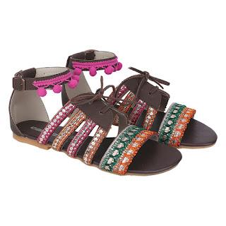 Sandal Flat Wanita Catenzo AK 832