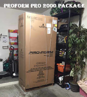 How Proform Pro 2000 looks when packed