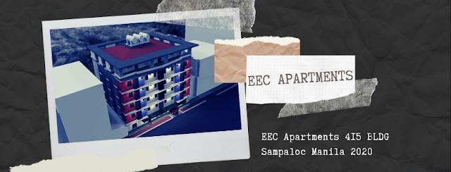 EEC Apartments 415 BLDG Sampaloc Manila 2020