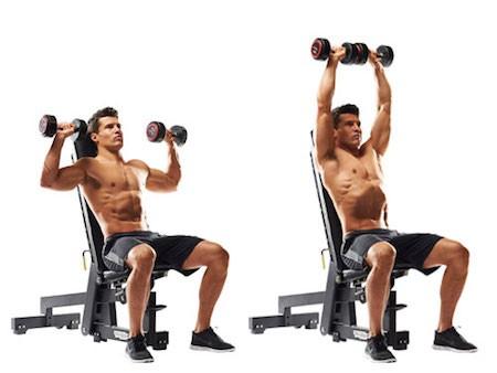 أهم التمارين تعمل على تقوية عضلات الكتف: