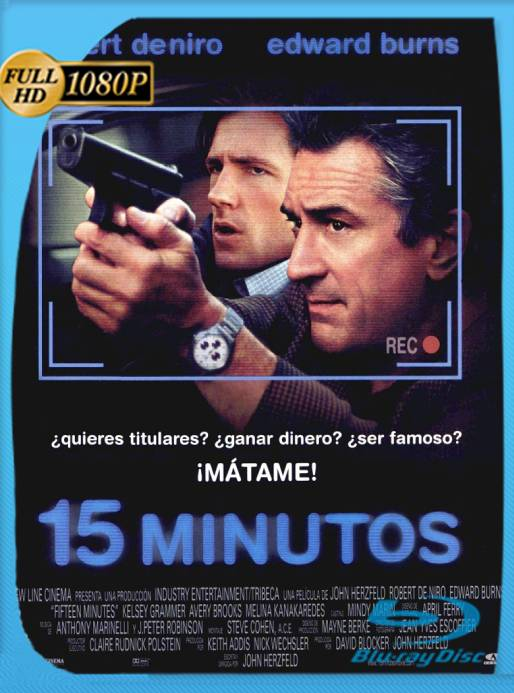 15 Minutos (2001) BRRip 1080p Latino [GoogleDrive] Ivan092
