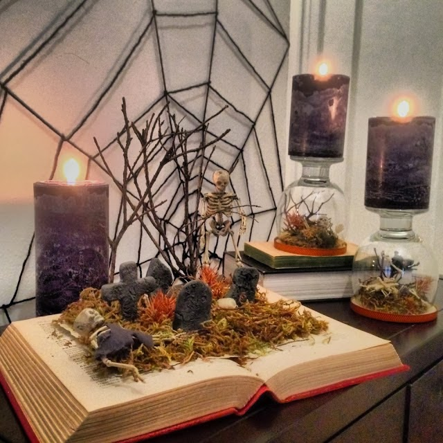 Halloween terrariums dollar store crafts