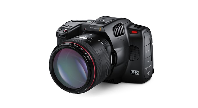 That's the new pro version of Blackmagic's pocket 6k cinema camera