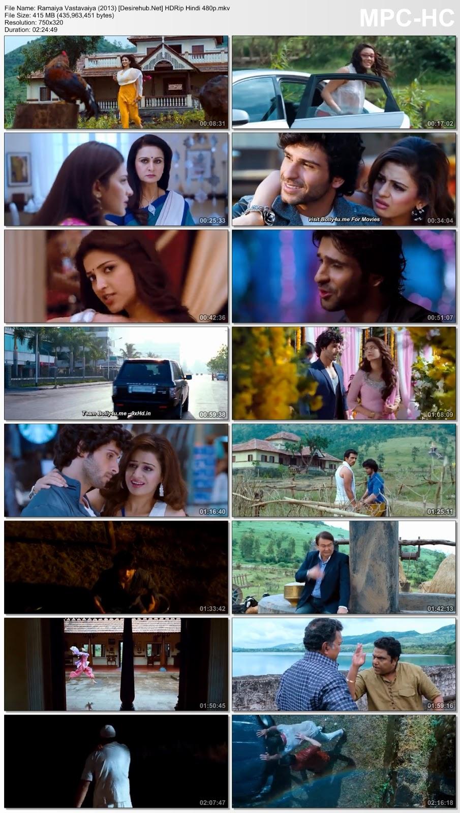 Ramaiya Vastavaiya (2013) HDRip Hindi 480p – 400MB Desirehub