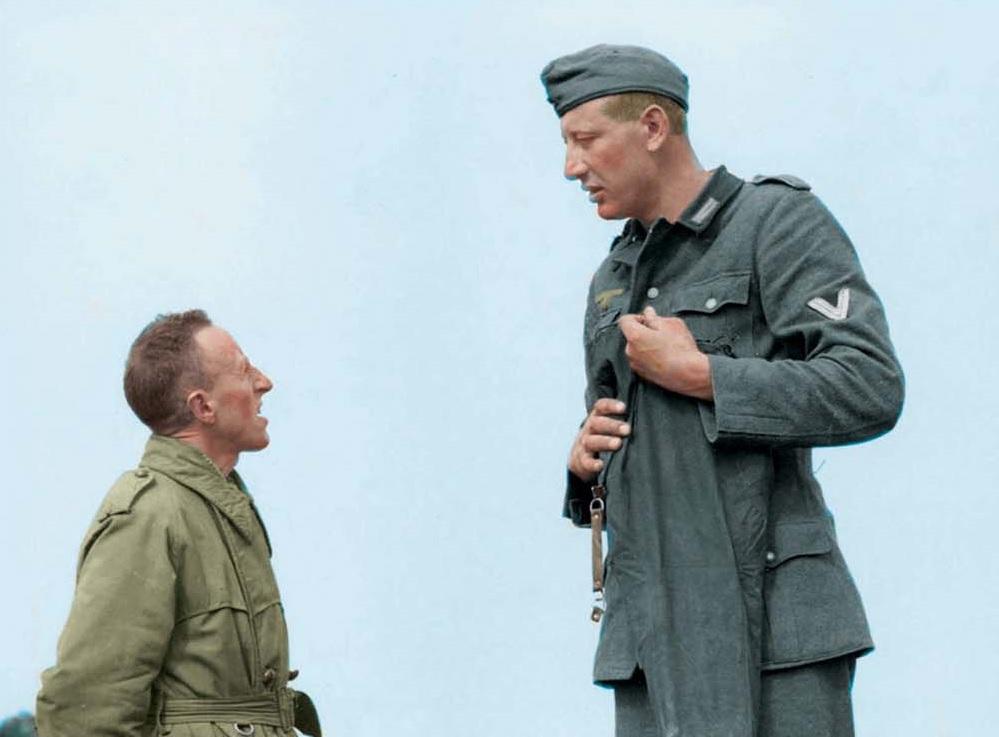 Jakob Nacken, el soldado más alto de la Segunda Guerra Mundial
