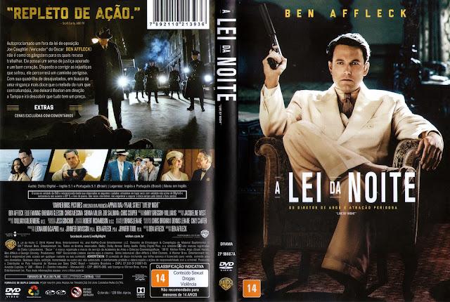 Capa DVD A Lei da Noite