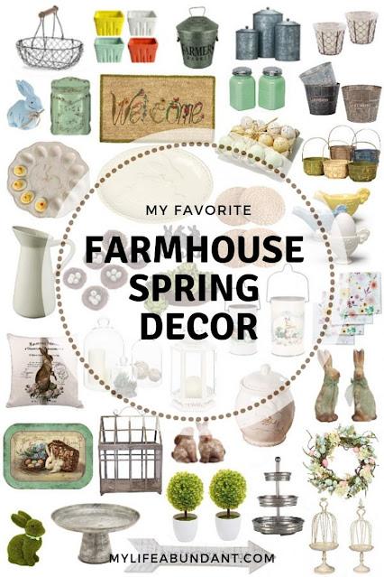 Farmhouse Spring Decor