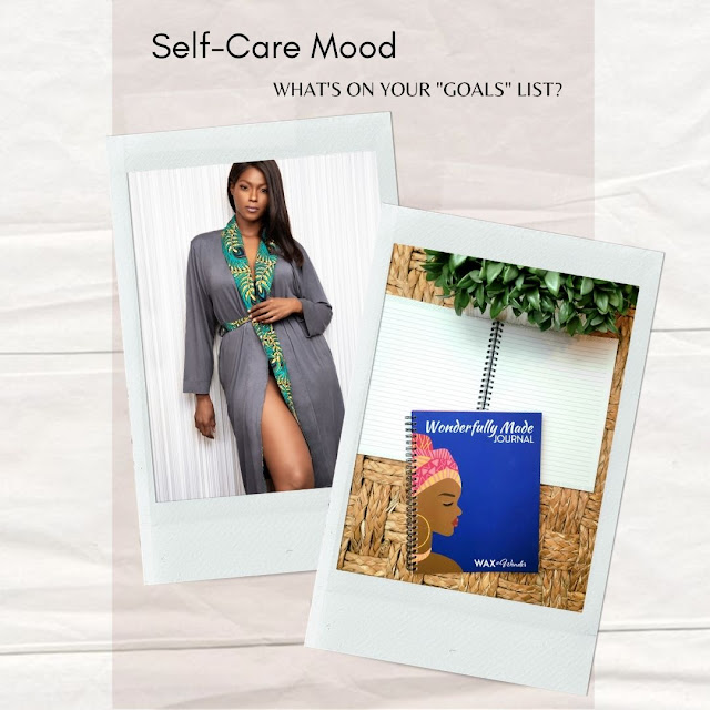 African Fashion inspired journal and sleepwear