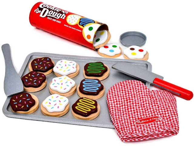 Melissa and Doug Cookie Dough Cutting Set
