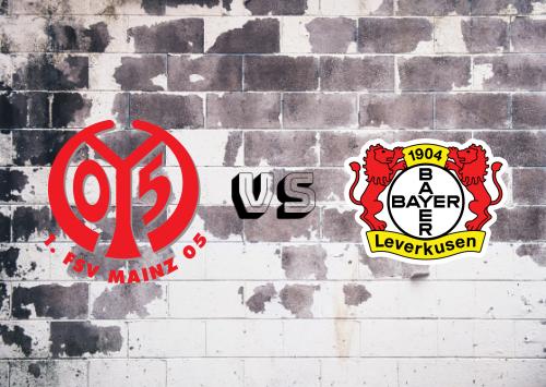 Mainz 05 vs Bayer Leverkusen  Resumen