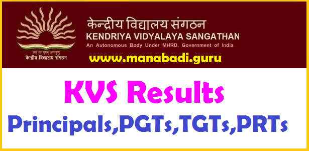 Results, KVS Results, Kendriya Vidyalaya Sangatham, Merit List