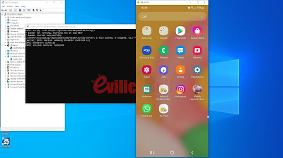Cara mirroring Android ke PC / Laptop dengan USB