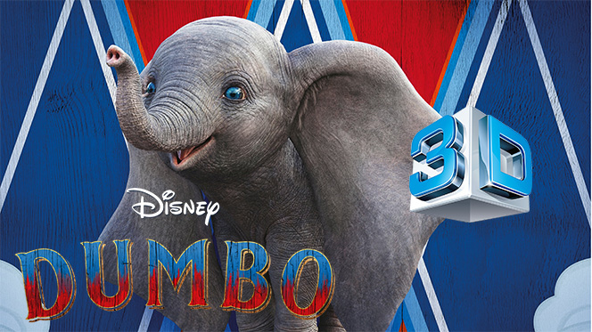 Dumbo (2019) 3D SBS Full 1080p Latino-Castellano-Ingles