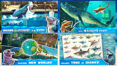 Hungry Shark World Versi 1.0.6 Apk+Obb Mod